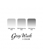 Eternal ink.Gray Wash Set.