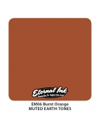 Eternal ink.Muted Earth Tones.Burnt Orange.