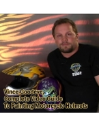 Vince Goodeve, Complete Video Guide to Painting Motorcycle Helmets