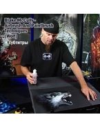 Blake McCully  CrossEyed  - Airbrush And Paintbrush Techniques  Wolf