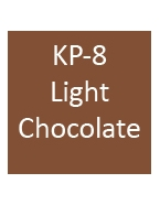 KP-8 LIGHT CHOCOLATE