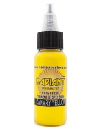 Radiant ink.Canary Yellow.